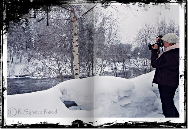 EM fotograferer bingsfossen