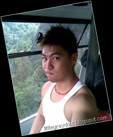 Camwhoring in cable car