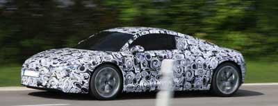 Испытания Audi e-tron