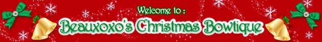 christmas beauxoxo banner