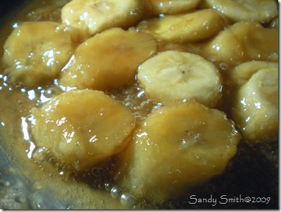 Bananas-caramelizing
