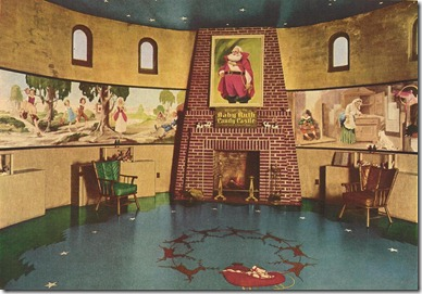 Santa's Candy Castle - 1930's Interior
