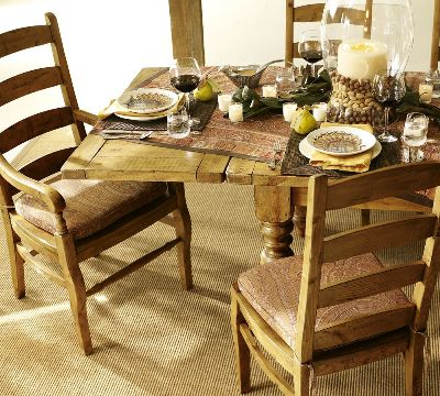 Vintage style dining