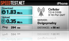 3G в Москве Мегафон