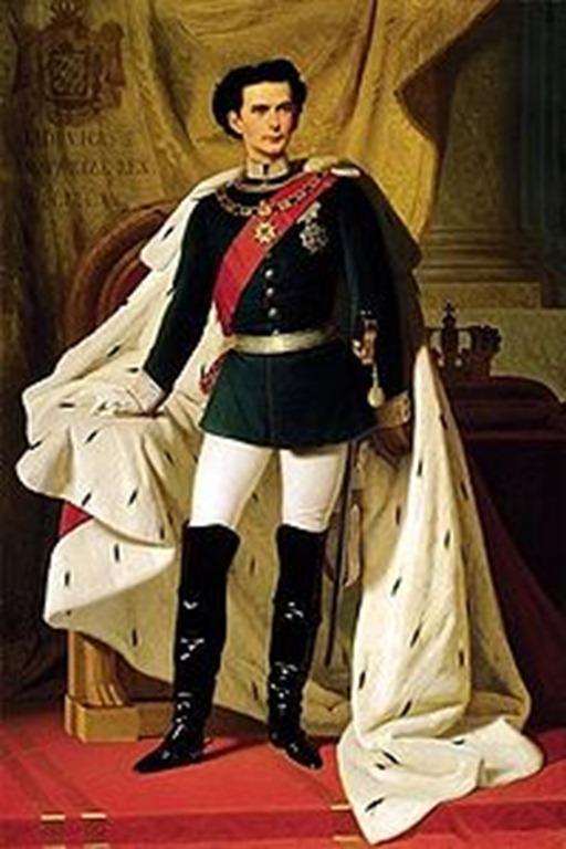 Luis II de Baviera.