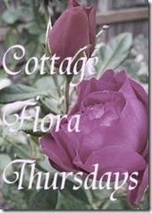 Cottage Flora Thursday button
