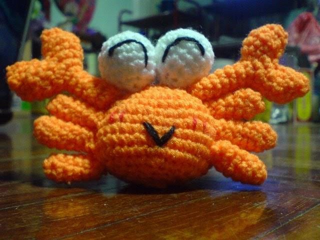 Amigurumi Crab : nareeoo amigurumi crochet: Crabby Free pattern