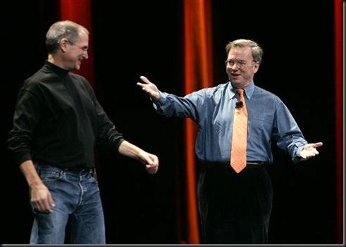 Steve Jobs e Eric Schmidt02