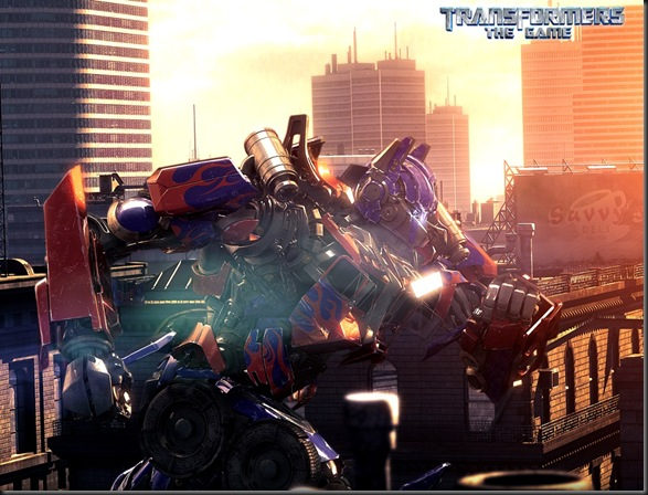 Transformers The Game 01