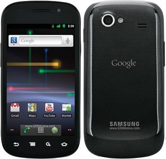 Samsung Nexus S Google 02