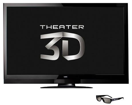 VIZIO THEATER 3D HDTVS