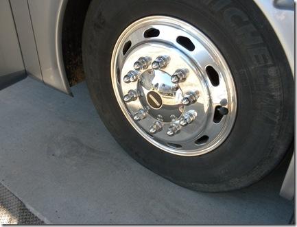 Shiny wheel