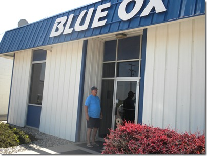 Blue Ox entry