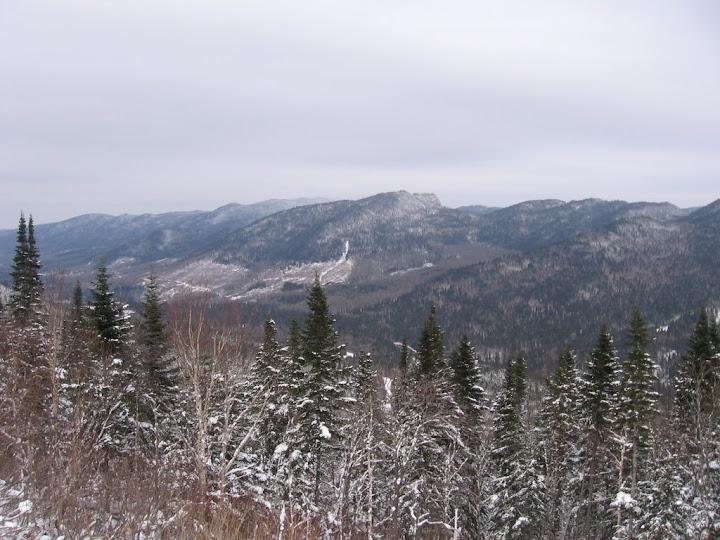 Sur la route pour Québec