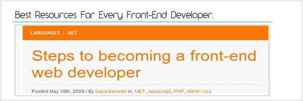 Best-Resources-For-Every-Front-End-Developer.