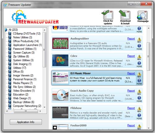 freewareupdater