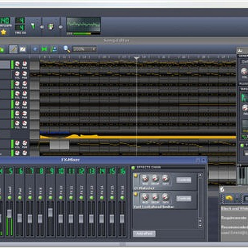 LMMS – Open source music production studio