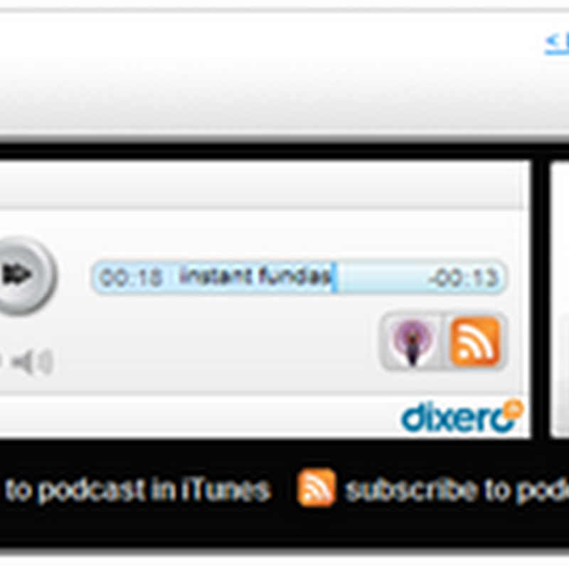 Turn your RSS feeds into podcasts with Dixero