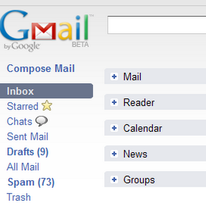 Integrated Gmail – All Google services at one place