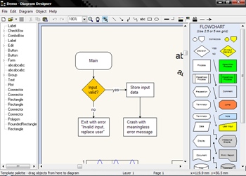 diagram designer   flowchart and schematic diagram creator    diagram designer