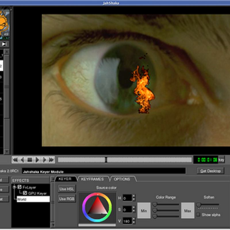 Jahshaka – Open source real time video editing and effects software