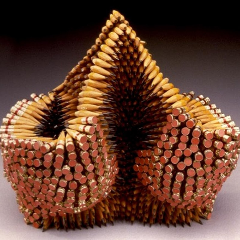 Creative Pencil Sculptures