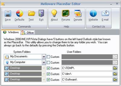 placesbar-editor