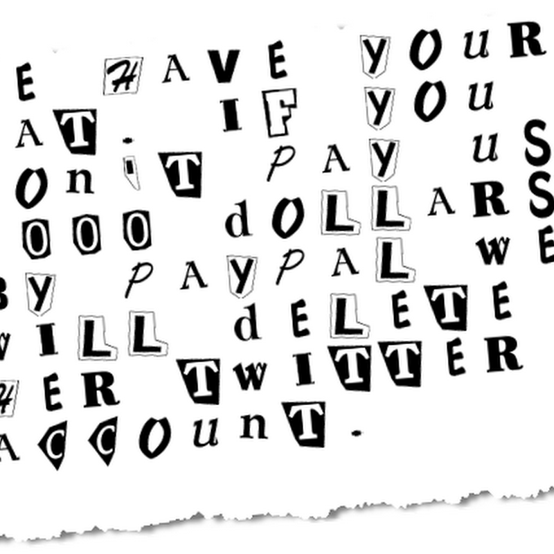 Ransom Note Generator – Useless fun