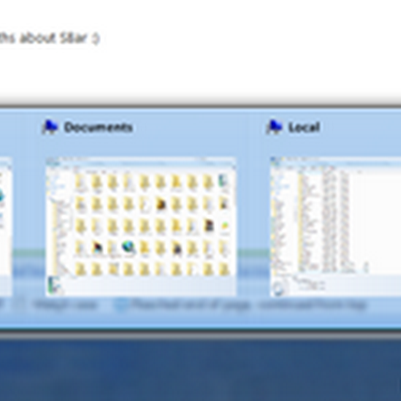 SBar Taskbar Replacement - Windows 7 task bar features in XP and Vista