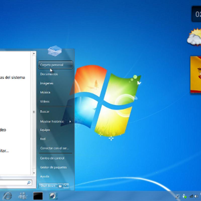 Windows 7 Transformation Pack for Ubuntu