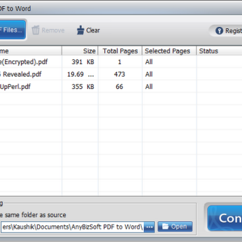 Free download AnyBizSoft PDF to Word Converter 3