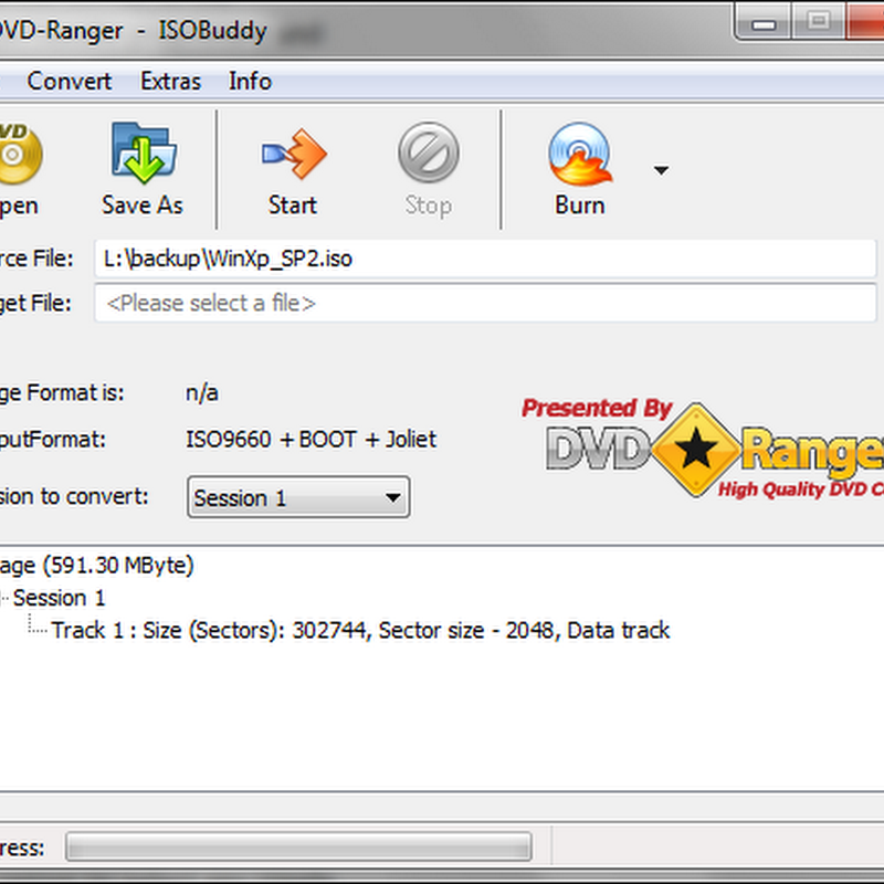 ISOBuddy – Disk image format converter