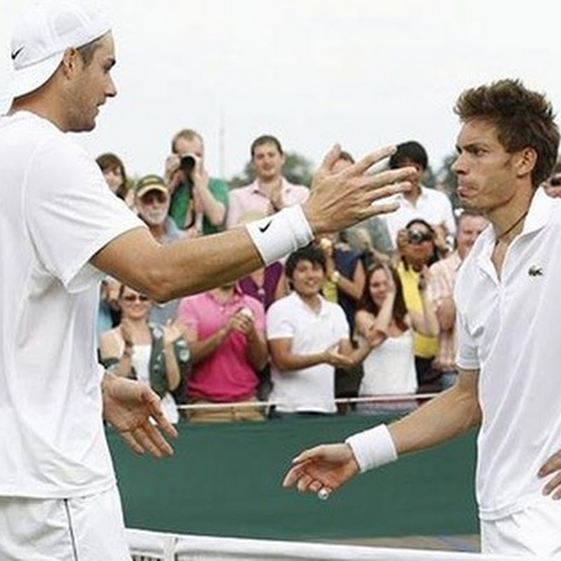Guardian live blogger captures the crazy moments of an epic Wimbledon match