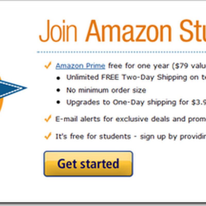 Free Amazon Prime account for US students