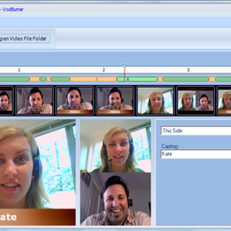 Record and edit Skype Video Calls with VodBurner