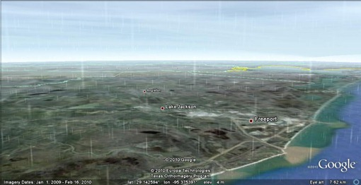 google-earth-hurricane-texas