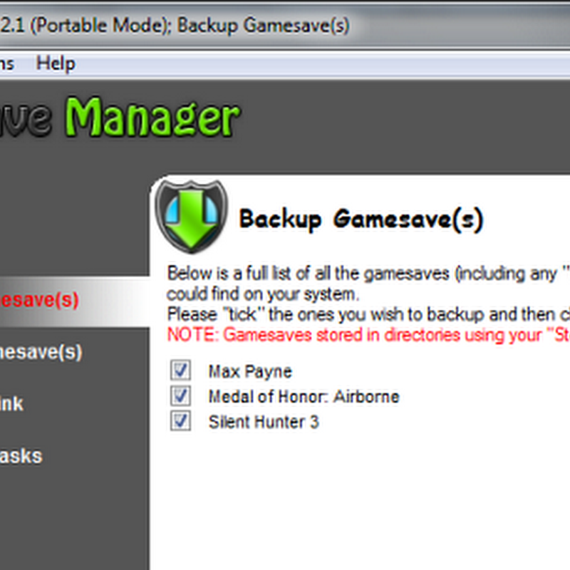 4 free tools to backup your saved games and settings