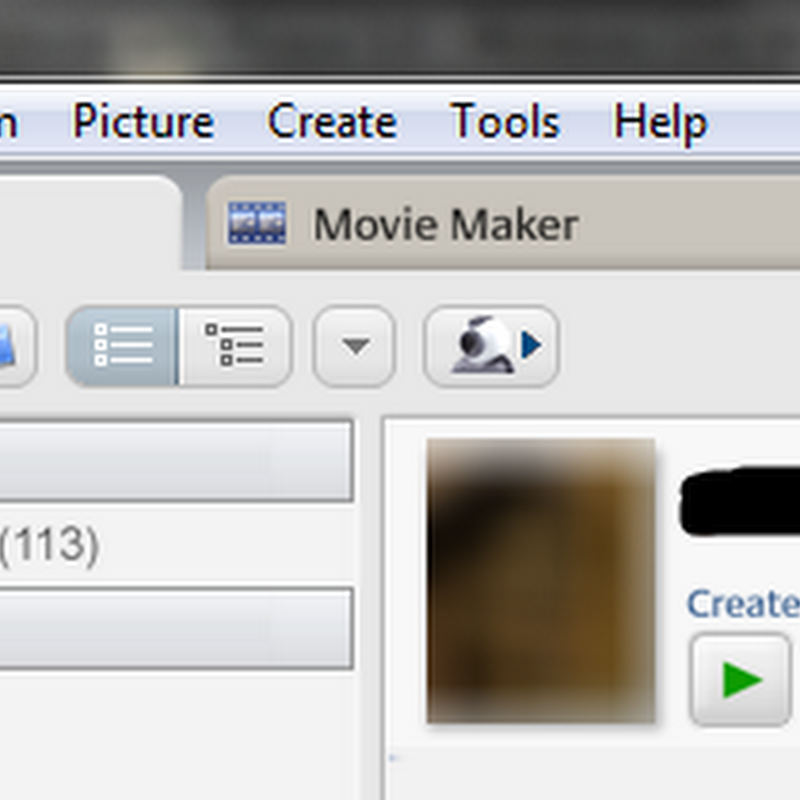 Create your own Face Movie with Picasa 3.8