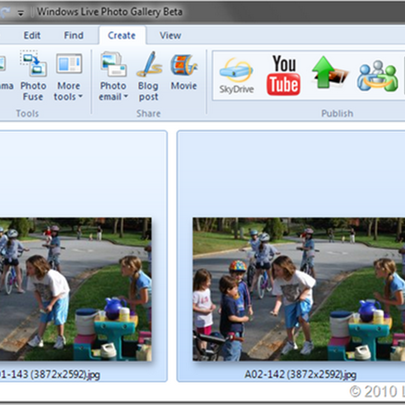 Fix group photos, remove unwanted objects and clone yourself with Windows Live Photo Gallerys Photo Fuse