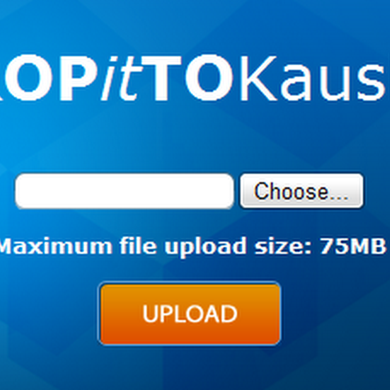 DropItToMe: Securely receive files from anyone to your Dropbox account