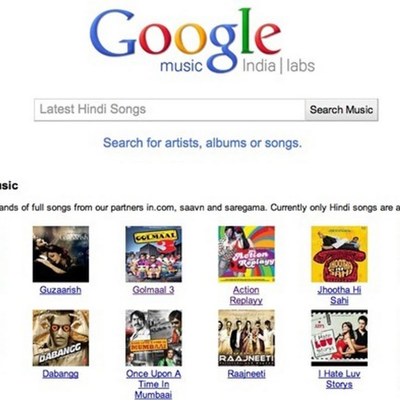 Google launches streaming Bollywood music service in India