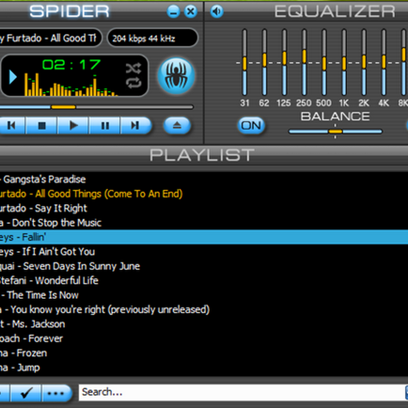 Spider Player: Music player, radio player, converter, CD-ripper. All-in-one