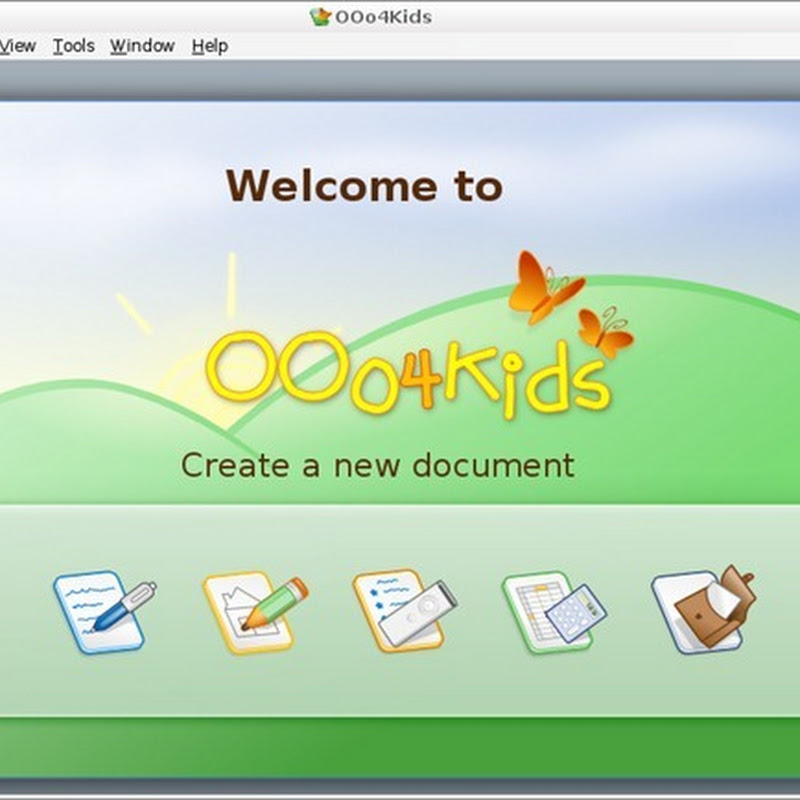 OpenOffice4Kids  Kids friendly Office suite