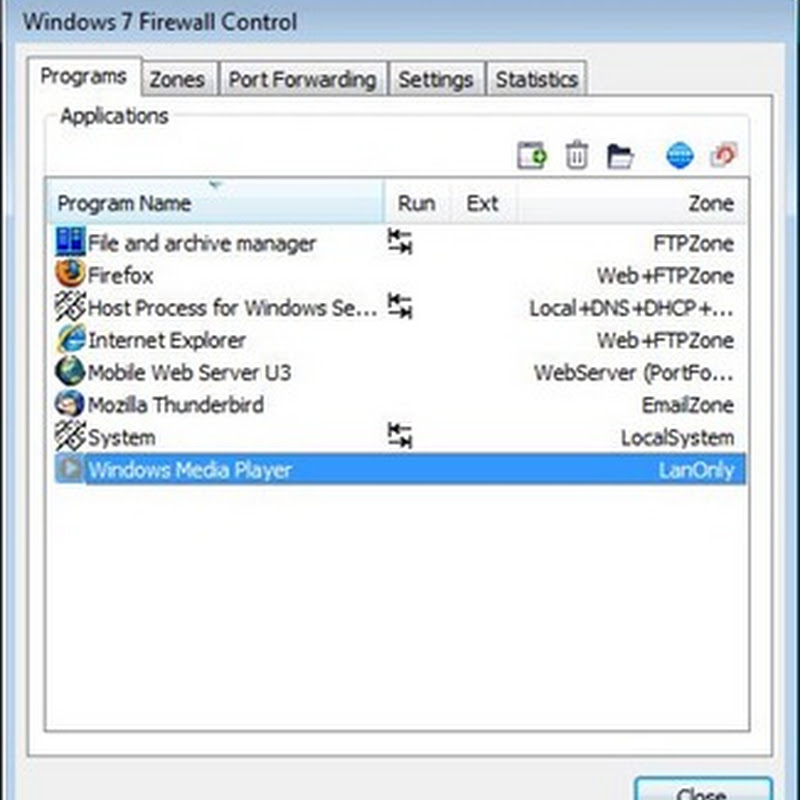 Windows 7 Firewall Control: Manage Windows firewall better