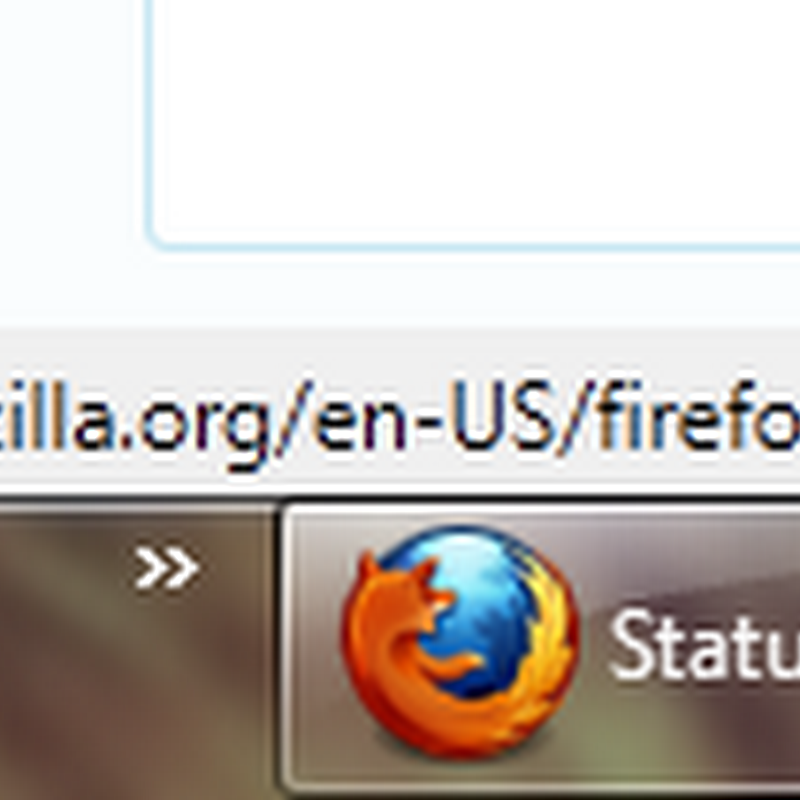 Bring back the status bar in Firefox 4 beta