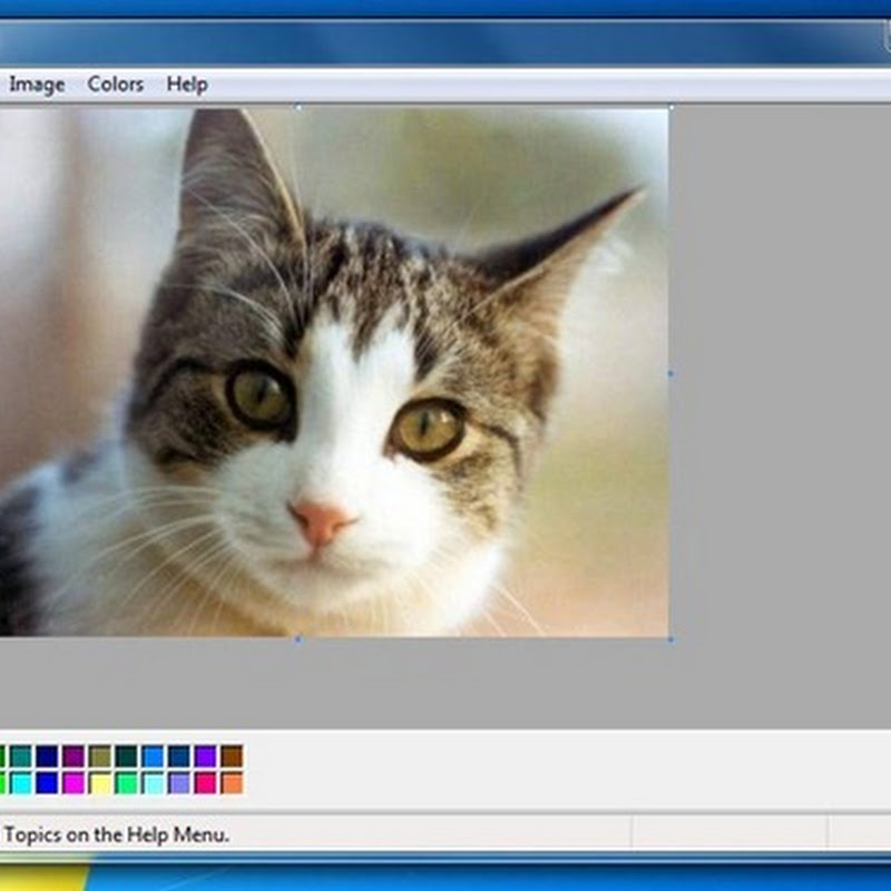 Get Windows XP's Paint Interface in Windows 7