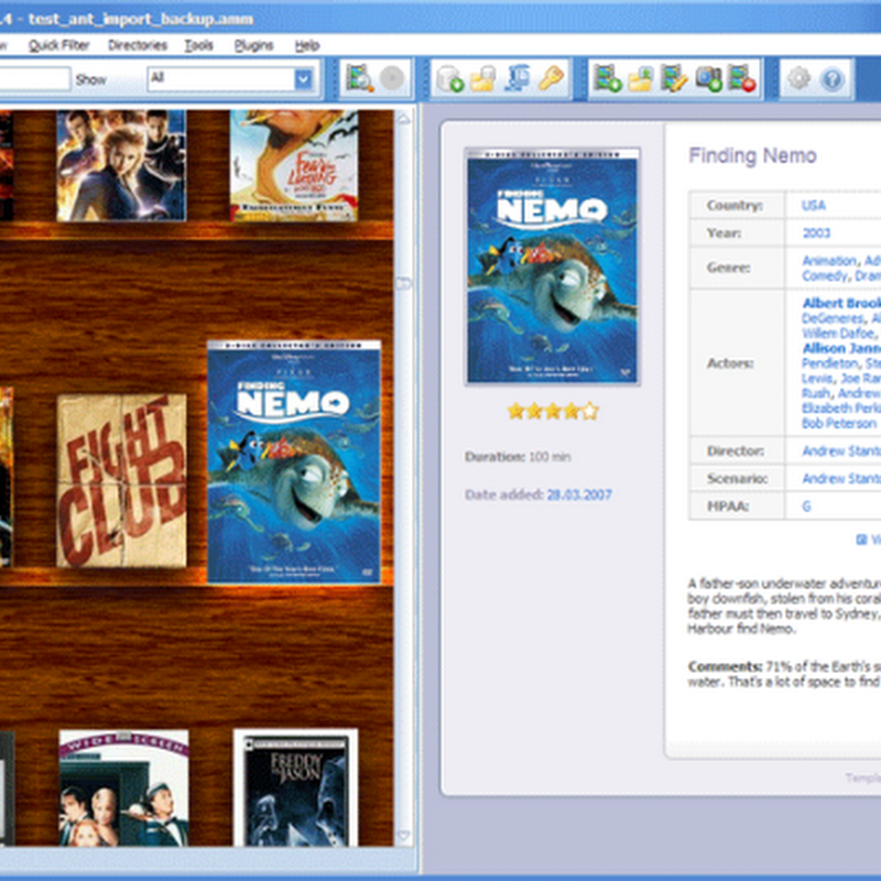 Review And Giveaway: All My Movies, Movie Organizer