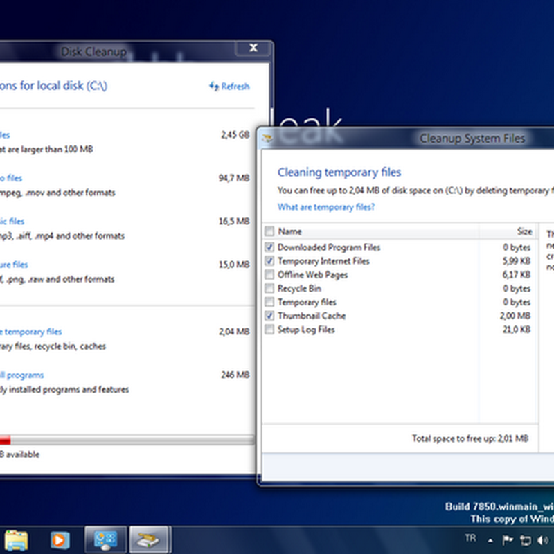 Windows 8: Improved Disk Cleanup Tool