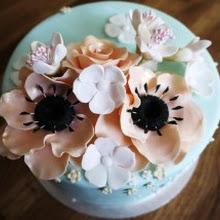 Sugar Floral Celebration Cakes