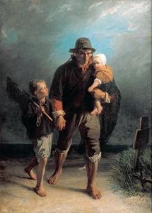 Jozef Israëls - The Zandvoort Fisherman